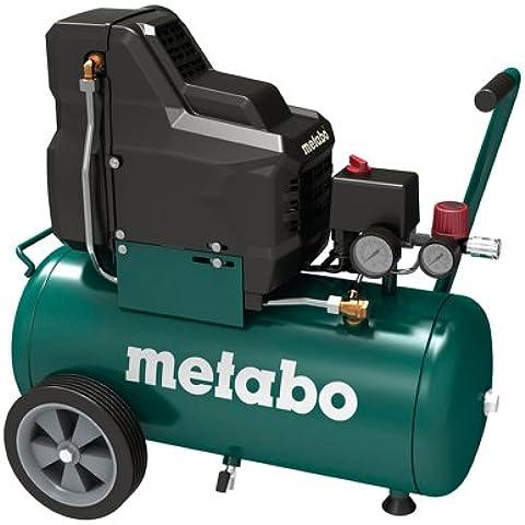 Metabo Basic 250-24 W OF - Compresor 2 cv 25 litros sin aceite