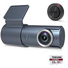 Goluk T3 Telecamera per Auto WiFi, Auto Dash Cam, 1080P FHD DVR Video, G-Sensor, registrazione in loop, Monitor di parcheggio, Rilevatore di Movimento, Supporto 128GB SD card