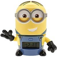 BulbBotz Despertador Infantil con Luz Nocturna, 15x9x14 cm