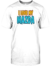 Mens t-shirt DTG Print - I love my Mazda - Car Enthusiasts Collectors - Cars
