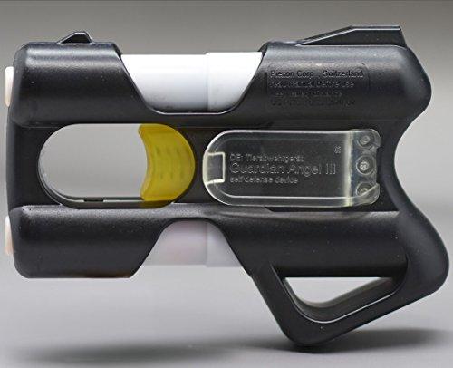 Piexon Guardian Angel 3 mit Gürtelclip schwarz Tierabwehrspray Pfefferspray