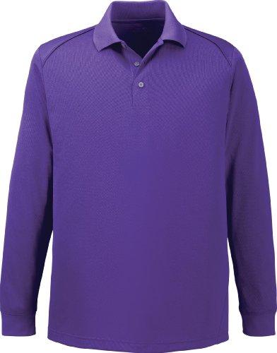 Extreme Herren Haken Schutz Lange Ärmel Polo Shirt. 85111 CAMPUS PRPLE 427
