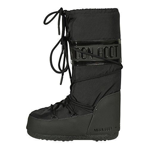 buy online 338f7 29a5f Moon Boot Classic Plus Womens Boots 39-41 EU Black