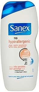 Sanex Gel Douche Dermo Hypoallergénique 250 ml Lot de 3