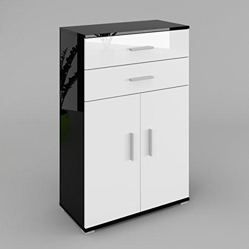 lili-commode-buffet-dressoir-2-portes-2-tiroirs-le-corps-noir-haute-brillance-le-front-blanc-haute-b