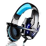 HATCHMATIC Gaming Headset Microphone LED USB Jack 3.5mm Game Headphone 5V Earphone