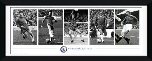 Chelsea Legende (GB Eye Gerahmtes Foto FC Chelsea Legenden, 76x30,5cm)