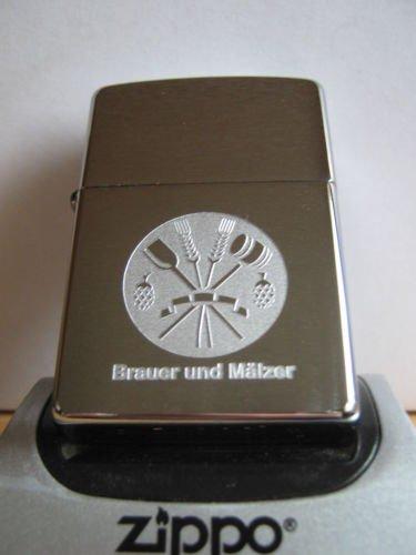 Zippo Feuerzeug Handwerkszeichen Brauer und Mälzer