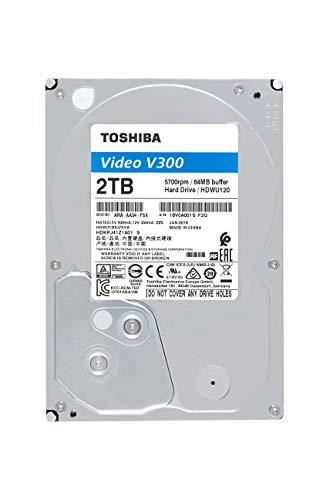 'Toshiba hdwl120uzsva Disco rigido interno 2,52to SATA Nero 2TB