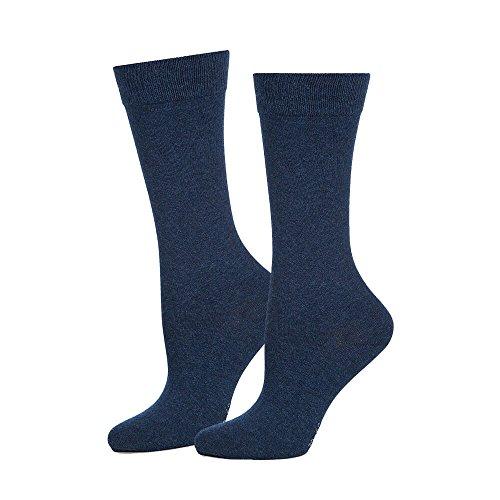 Safersox Business Socken Dunkelblau meliert, 39-42