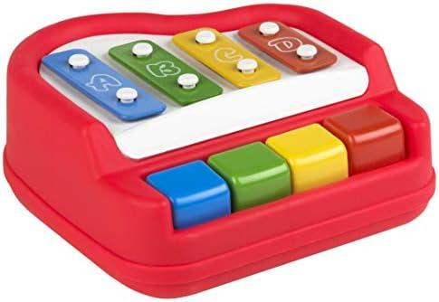 COLORBABY Mon Premier xilofón Baby 22 x 22 cm Multicolore (Couleur 44123) | Bien Connu Pour Sa Fine Qualité