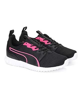 Puma Women's Concave Pro X Idp Black-Nrgy Rose Running Shoes-3 UK (35.5 EU) (5.5 US) (19336905_3)