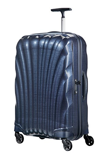 Samsonite-silhouette (Samsonite - Cosmolite - Spinner 69/25 FL2, 69 cm, 68 L, Night Blau)