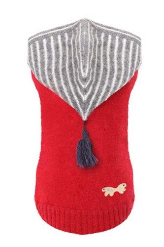 Roter Kaschmir-pullover (Puppy Angel Pullover Kaschmir superlambs rot)
