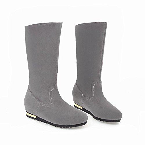 Misssasa Donna Boots Simple Gris