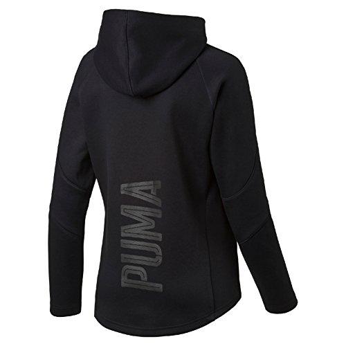 Puma Damen Evo Hoody W Pullover Cotton Black