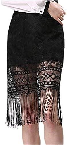 7bb0fbc24c2987 CRAVOG Kleider hoher Größe Häkeln Sticken mit Fransen Sexy Blume  nqmpmo1721-Kleidung