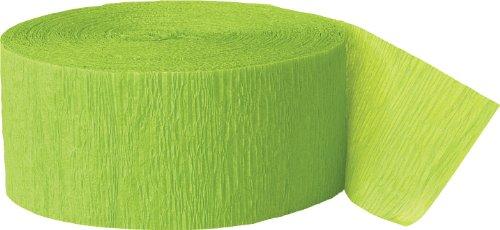Halloween-Party Lime grün Streamer
