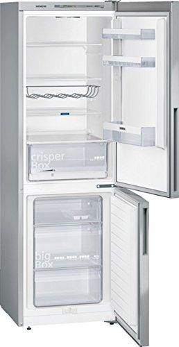 Siemens KG36VVL32 iQ300 Kühl-Gefrier-Kombination / A++ / 186 cm Höhe / 227 kWh/Jahr / 215 Liter Kühlteil / 94 Liter Gefrierteil / Metalldekor / CrisperBox Feuchtigkeitsregler