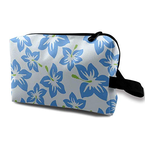 ccd46cd9341d Hibiscus Flowers Magic Makeup Bag Lazy Cosmetic Bag Portanle Travel Handbag