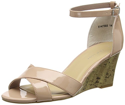 New Look Damen Puff 2 Pumps Beige (Oatmeal)