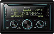 Pioneer FH-S725BT CD and Digital Media Receiver Pioneer Smart Sync Compatible, Dual Bluetooth, 3 RCA Pre-Outs,