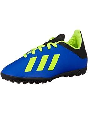 Adidas X Tango 18.4 TF J, Botas de fútbol Unisex niños