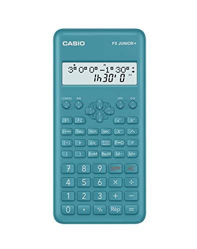 Casio FX Junior+ Calculatrice Scientifique - Bleu