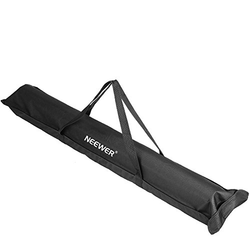 'Neewer® 42,5/108cm resistente trípode soporte de altavoz bolsa de transporte/caso con dos correas-negro