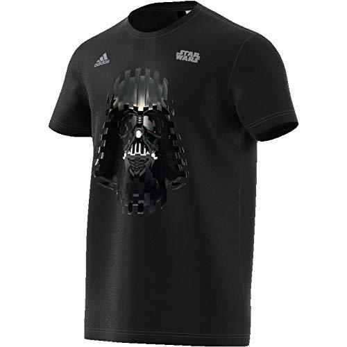 adidas Herren Darth Vader T-Shirt, schwarz (Black), M (Vader Darth Shirt)