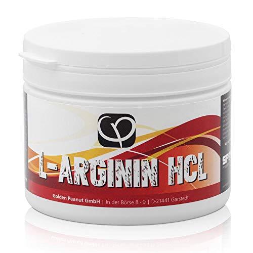 L-Arginin HCL Pulver 400 g Dose - Premium Qualität - gewonnen durch pflanzliche Fermentation