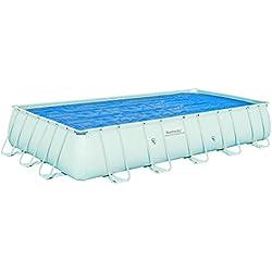 Bestway - Cobertor Solar Rectangular para piscinas con tamaño 671x366cm