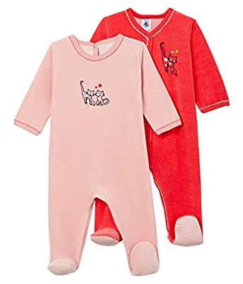 Petit Bateau Pijama (Pack de 2) para Bebés