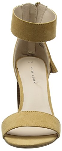 New Look Pitta, Escarpins femme Beige - Beige (15/Stone)