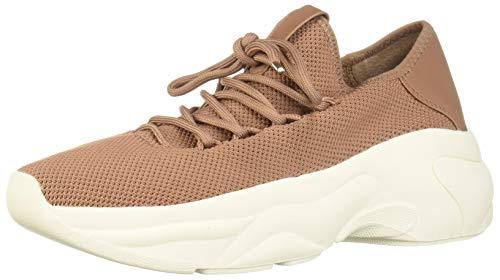 Steve Madden Frauen Fashion Sneaker Braun Groesse 7.5 US /38.5 EU (Madden Von Keil-sandale Steve)