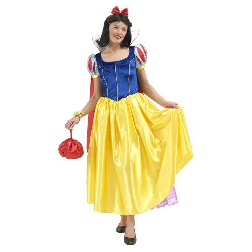 Kostüm Deluxe Schneewittchen - PARTY DISCOUNT NEU Damen-Kostüm Schneewittchen Deluxe Gr. S