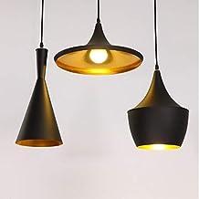 Metallo Vintage Lampadario a Sospensione E27 Retrò Lampada Pendente Vintage  in Stile Industriale Combinazione Classica Illuminazione