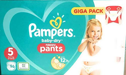 Coupon Matrix - Pampers Baby-Dry Pants Size 5 96 Nappies with Air Channels 96 Nappies