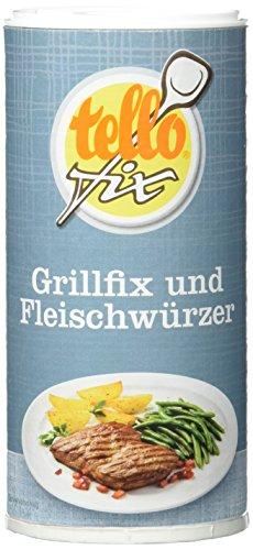tellofix Grillfix & Fleischwürzer, 1er Pack (1 x 135 g Packung)