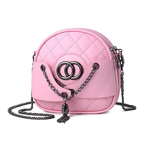 One-Shoulder-Umhängetasche New Wave Damen-Umhängetasche Fresh small duft Single Shoulder Messenger Bag, Pink