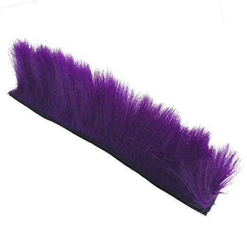 k Perücke Motorrad Kleber Mohawk Haar Patches Skinhead Kostüme Perücke, violett ()