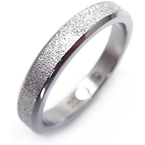 Elegante Anello Nuziale Magnetico Polvere di diamante Energetix 4you 406 (Argento Bat Anello)