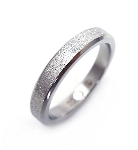 Diamantenstaub eleganter Design Magnetring Silber nickelfrei allergiefrei Energetix 4you 406 Partnerring Ehering Verlobungsring - 19