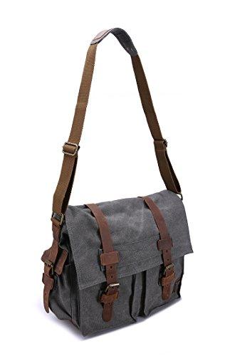 sulandy, sacchetto per uomo da portare a spalla marrone