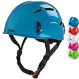 ALPIDEX Casco da Arrampicata per Bambini Casco Alpinismo en Diversi Colori