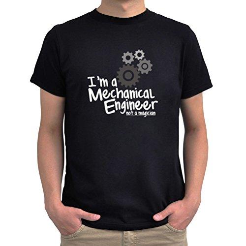 Maglietta I'm a mechanical engineer not a magician Nero
