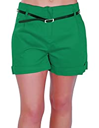 Amazon.co.uk: Green - Shorts / Women: Clothing
