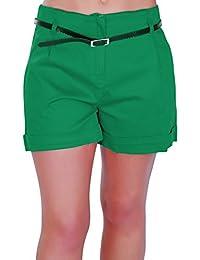 Amazon.co.uk: Green - Shorts / Women: Clothing