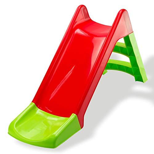 DEMA Rutsche/Kinderrutsche / Gartenrutsche für Kleinkinder Kinder Sandkasten Wetterfest