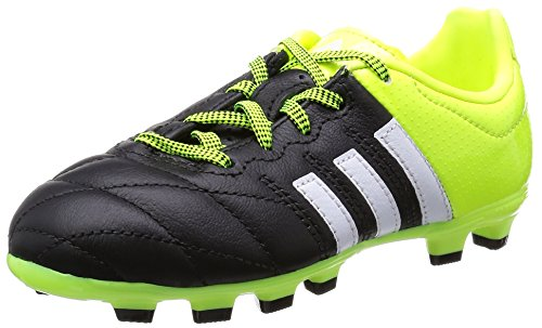 adidas Jungen Fußball Schuhe Boys Soccer Boots Ace 15.3 HG Junior Leather Kids Football Cleats B32805 (UK4/EU36 2/3)